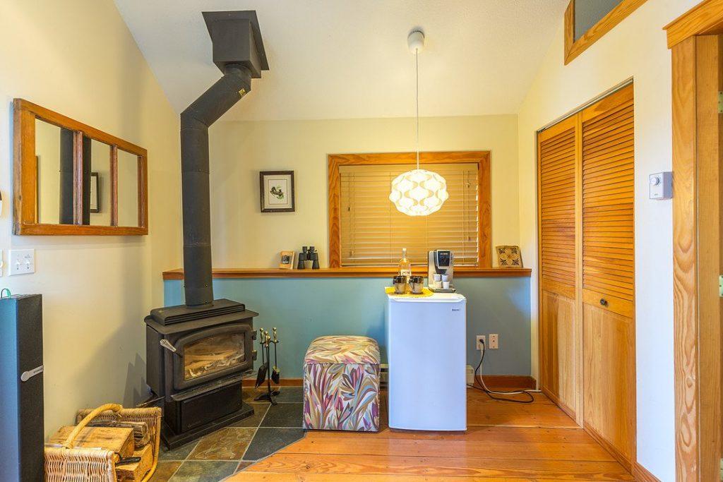 Studio Cabin Wood Stove