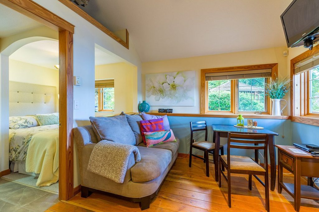 Studio Cabin - Sitting Area