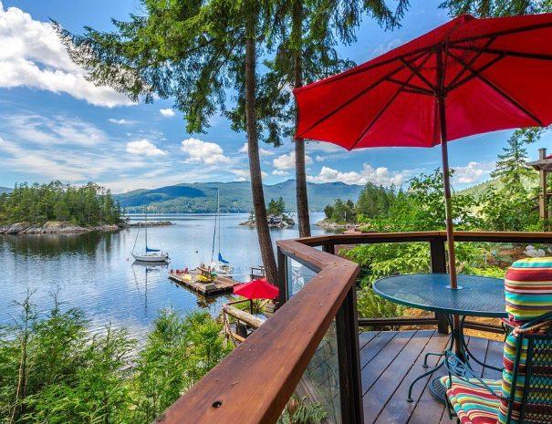 View - Luxury Suite Deck